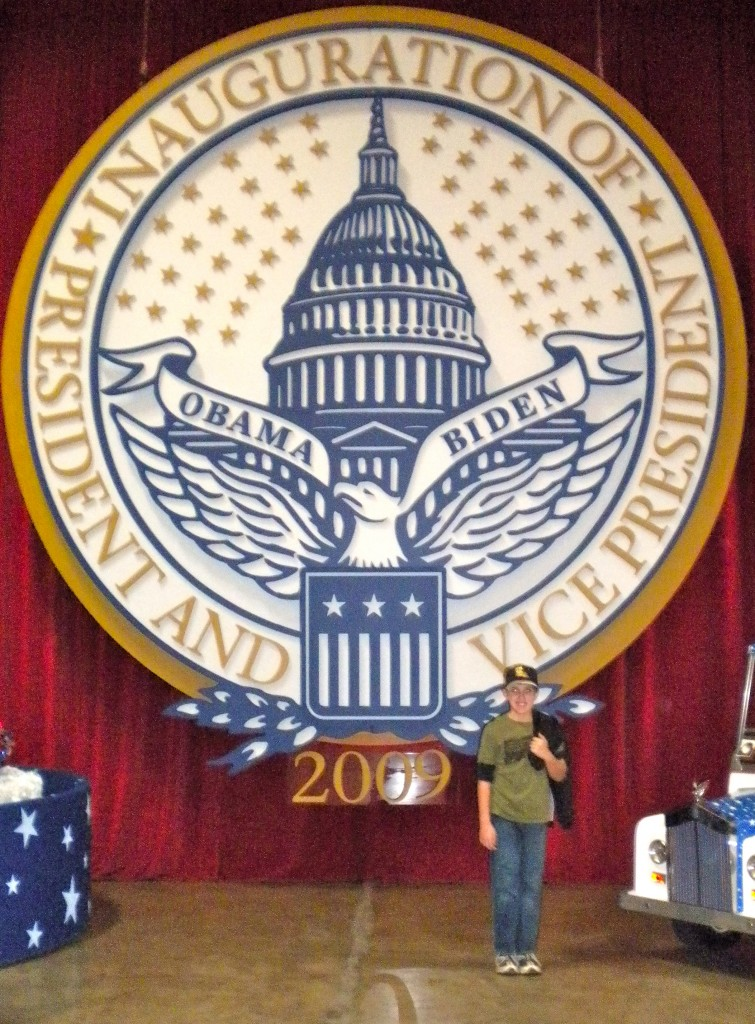 2009 Presidential Seal from the Inaugural Neighborhood Ball.