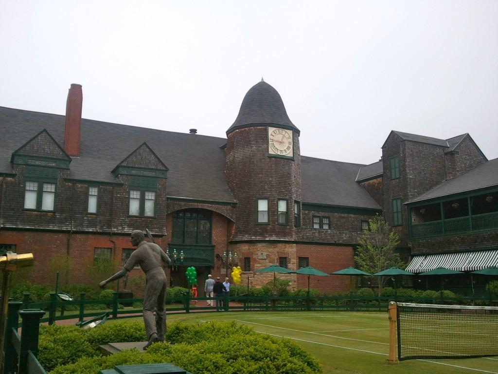 Tower Clock & Horseshoe Court