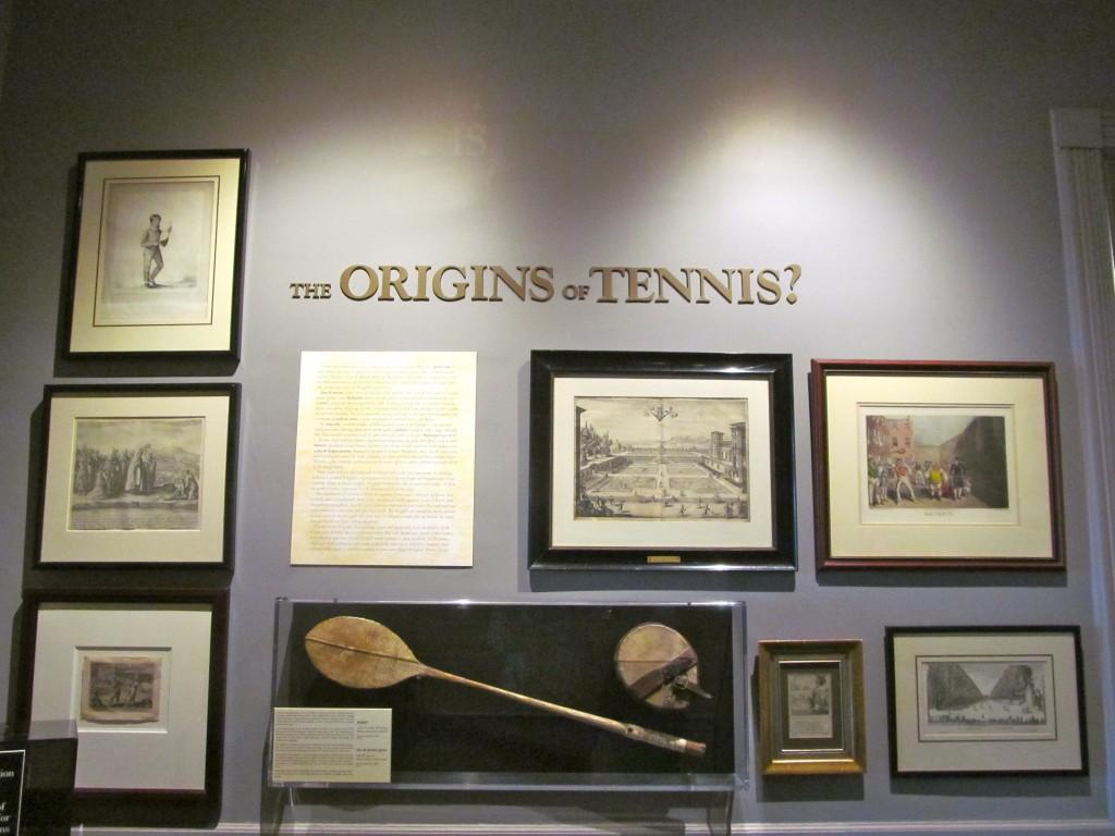 Origins of Tennis