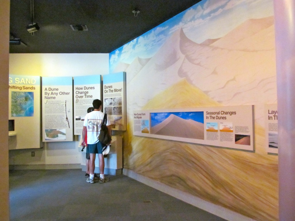 The museum at Jockey's Ridge.
