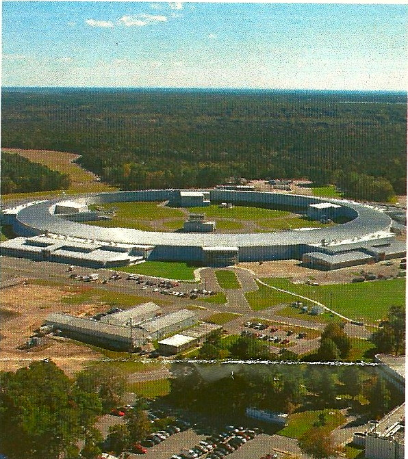 The National Synchrontron Light Source -II at Brookhaven National Laboratory (photo from flyer)