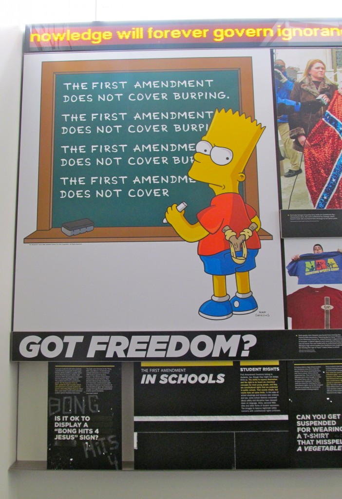 Bart made the museum.