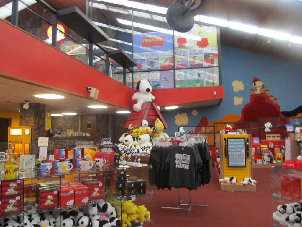 The gift shop of all things related to the Peanuts
