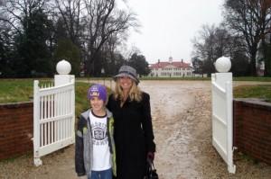 November 2008 at Mount Vernon