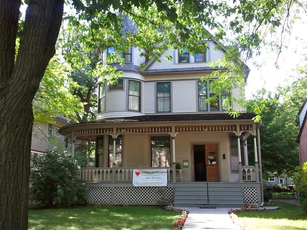 Hemingway's birth home.