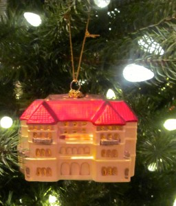 The Breakers Mansion Ornament