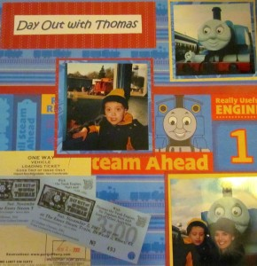 Day Out with Thomas 2001 in North Carolina.