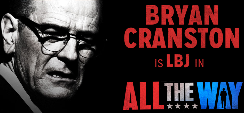 When I heard Breaking Bad's Bryan Cranston was going to be playing LBJ on Broadway, I immediately put it on my must see list.  Celebrities are the only thing that will get my son to see a Broadway Show.  For us history buffs it is the perfect play for both of us.