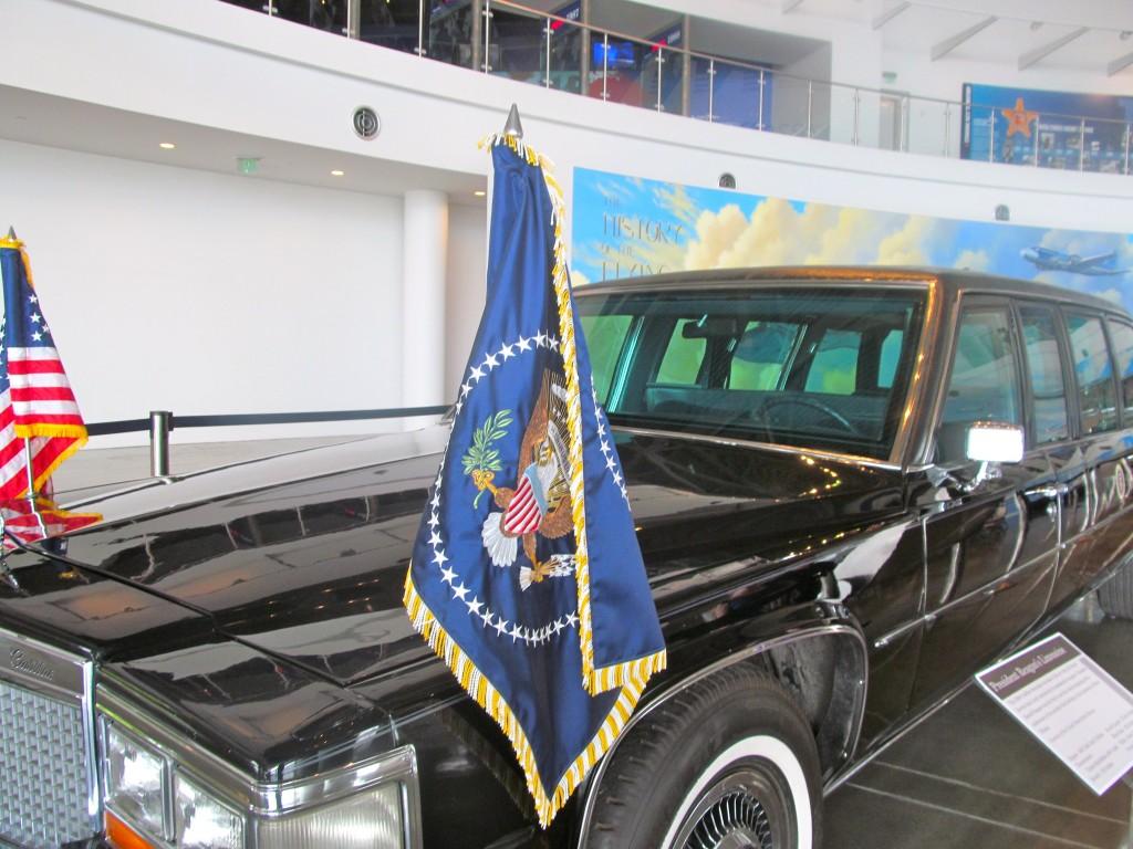 President Reagan's limousine.