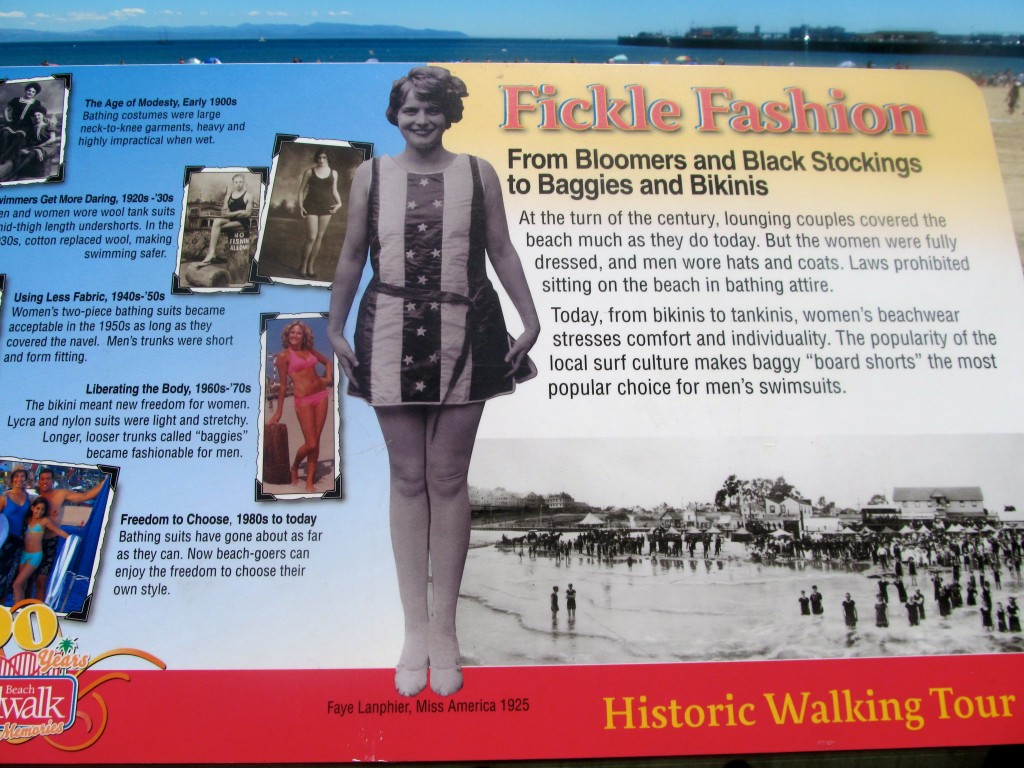 A little history on the Boardwalk mixed in with the attractions.
