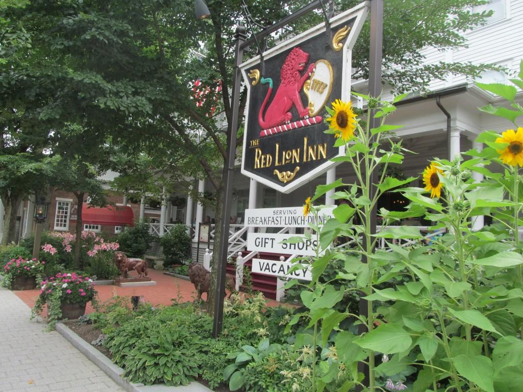 Main Street in Stockbridge, Massachusetts in the Berkshires.