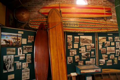 The tiny Surfing Museum.