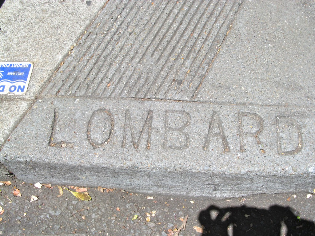 Lombard Street marks it's 165th anniversary in 2015.
